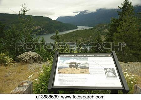 Stock Photograph of North Cascades, WA, Washington, Okanogan.