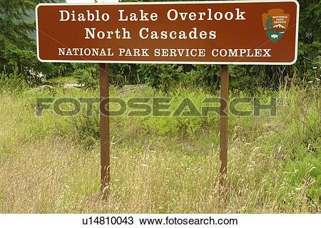 Stock Photo of North Cascades, WA, Washington, Okanogan National.