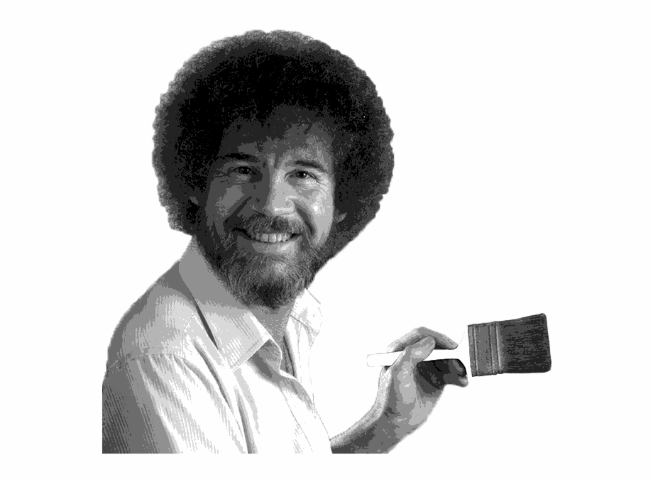 Bob Ross Free PNG Images & Clipart Download #2053082.