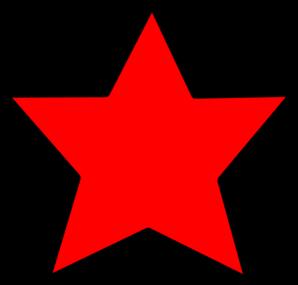 Star Hover Rossa 1 Clip Art at Clker.com.