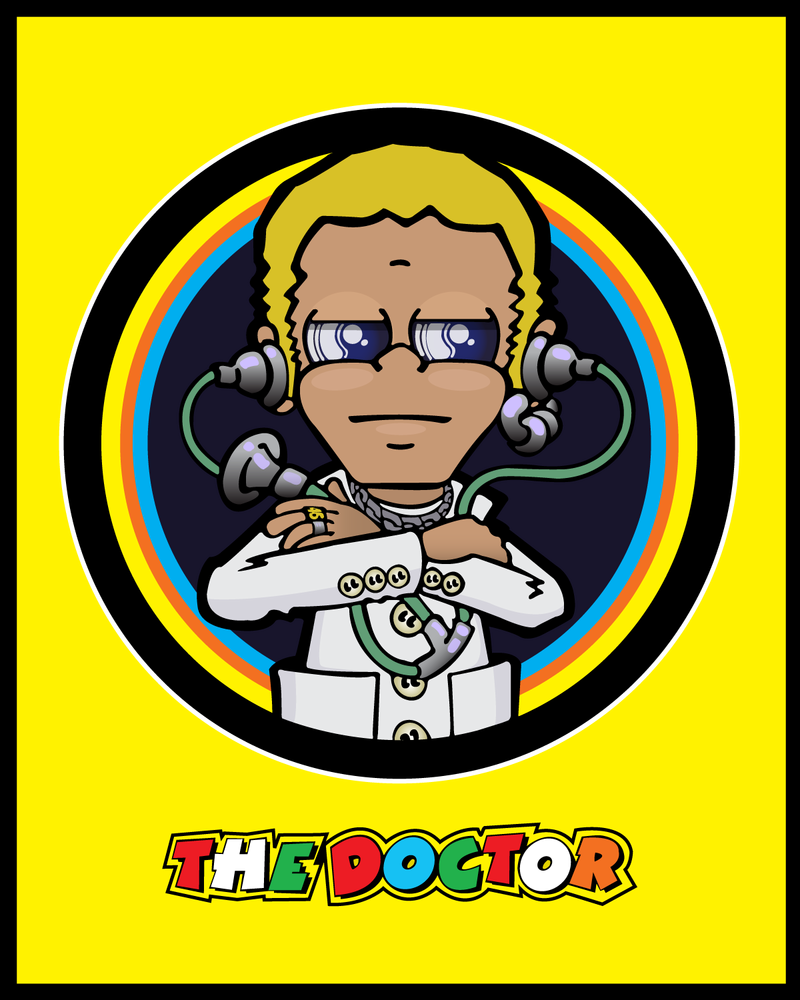 clipart motor valentino rossi the doctor.