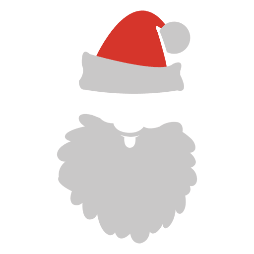 Rosto Papai Noel Png Vector, Clipart, PSD.