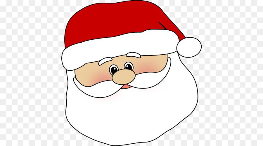 Papai Noel, Mrs Claus, Rosto.