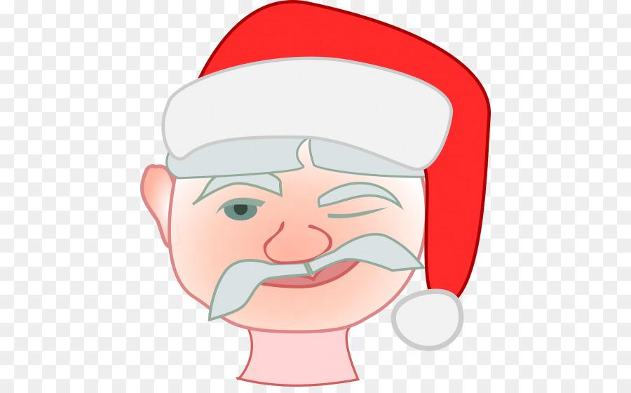 Papai Noel no Dia de Natal de Imagem de Clip.