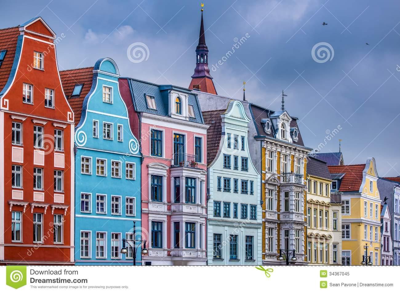 Rostock Germany Royalty Free Stock Photo.