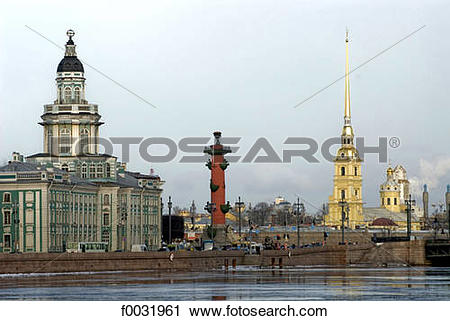 Stock Photography of Russia, St Petersburg, the Peter and Paul.