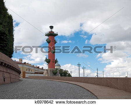 Stock Photo of Rostral column k6978642.