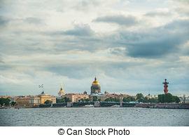 Stock Fotos von vasilevsky, Insel, Pfeil, Ansicht.