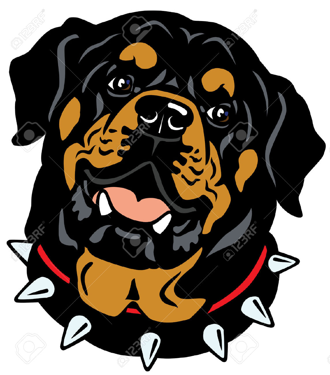 714 Rottweiler Cliparts, Stock Vector And Royalty Free Rottweiler.