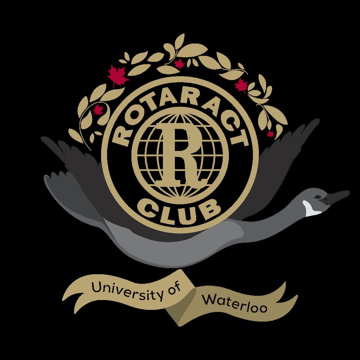 UW Rotaract Club Logo on Student Show.