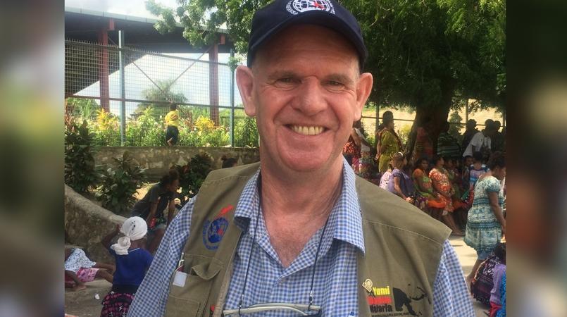 Rotarian program distributes about nine million mosquito.