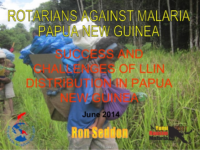 The Battle to Eliminate Malaria Part 1 of 2.