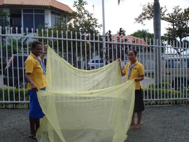 Papua New Guinea Casts Wide Net Against Malaria.