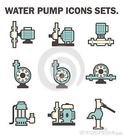 Centrifugal Pump Stock Illustrations.