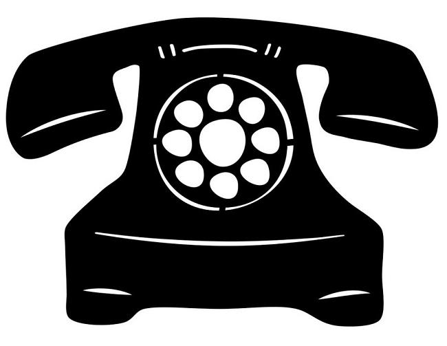 Rotary Telephone Clipart.
