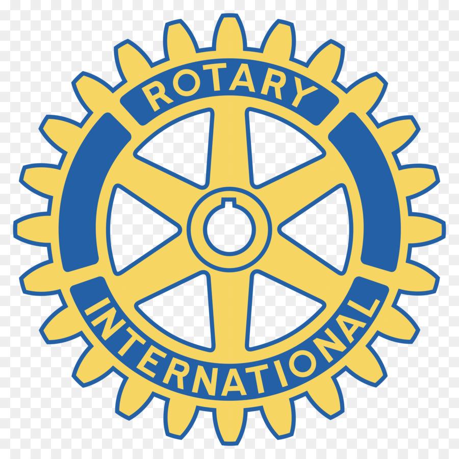 Rotary Logo clipart.