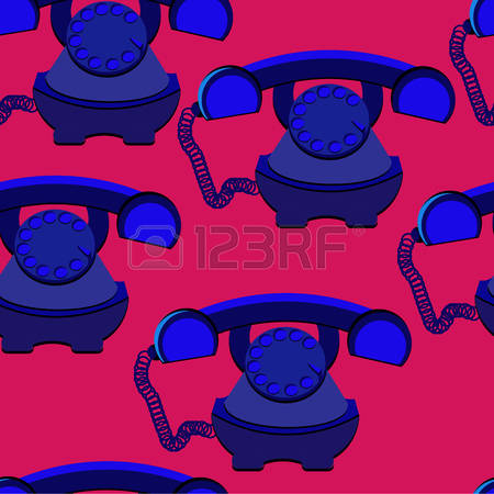 Rotary Dial Telephone Stock Illustrations, Cliparts And Royalty.