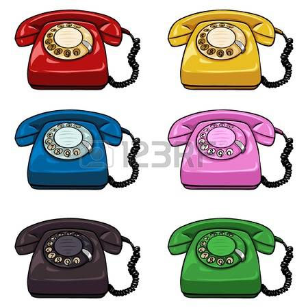 1,921 Rotary Phones Stock Vector Illustration And Royalty Free.