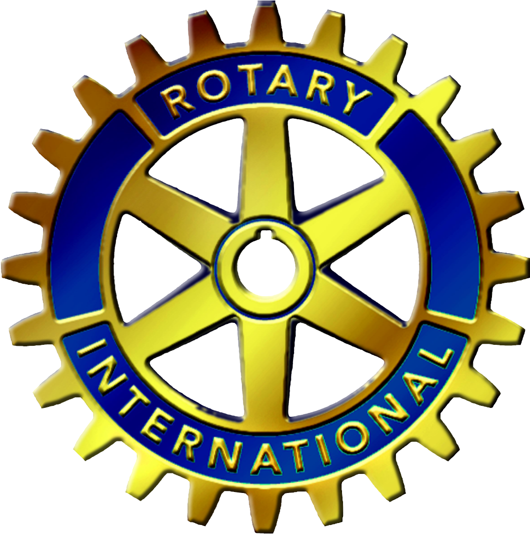G, Ery For > Rotary Club Logo.