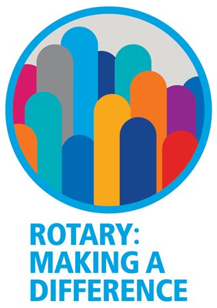 Rotary making a difference logo png 3 » PNG Image.