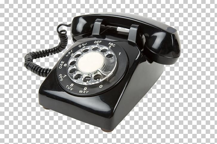 Plain Old Telephone Service Rotary Dial Email Stock.