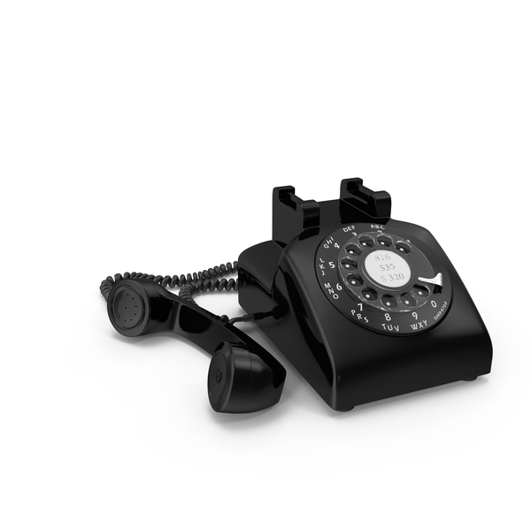 Black Rotary Phone PNG Images & PSDs for Download.