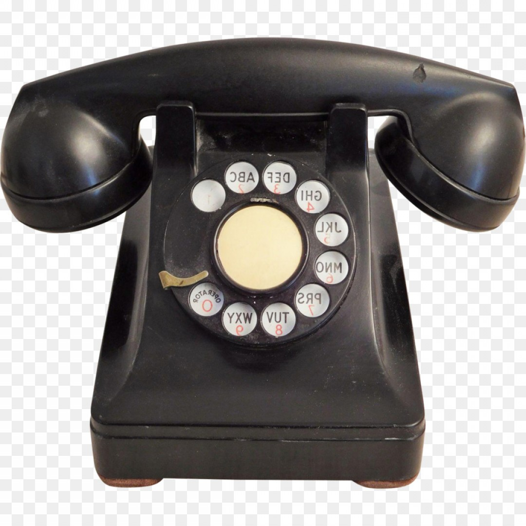 Png Rotary Dial Candlestick Telephone Model Teleph.