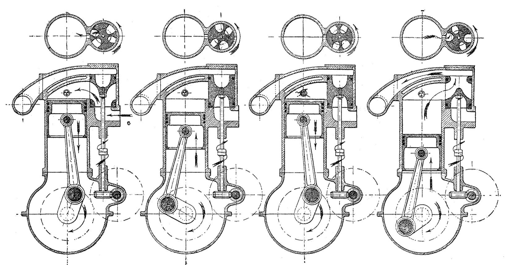 Rotary valve.