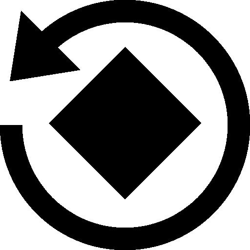 Rotate image instagram tool interface symbol.