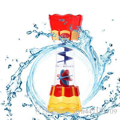 Best Lastest Children Beach Toy Rotating Cylinder Flow Observation.