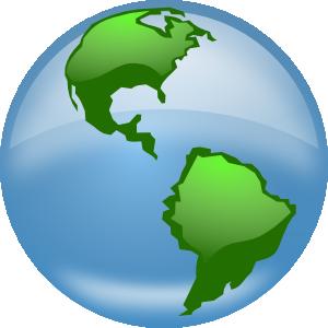 Glossy Globe Clip Art at Clker.com.
