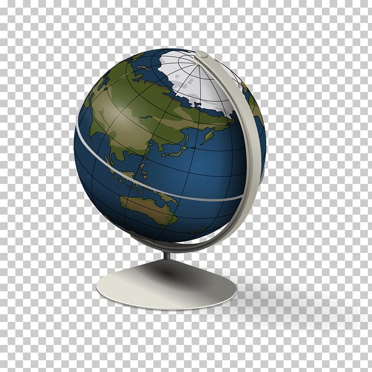 Globe World , Rotating globe PNG clipart.
