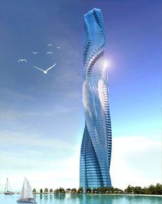 Rotating Towers, Dubai, UAE.