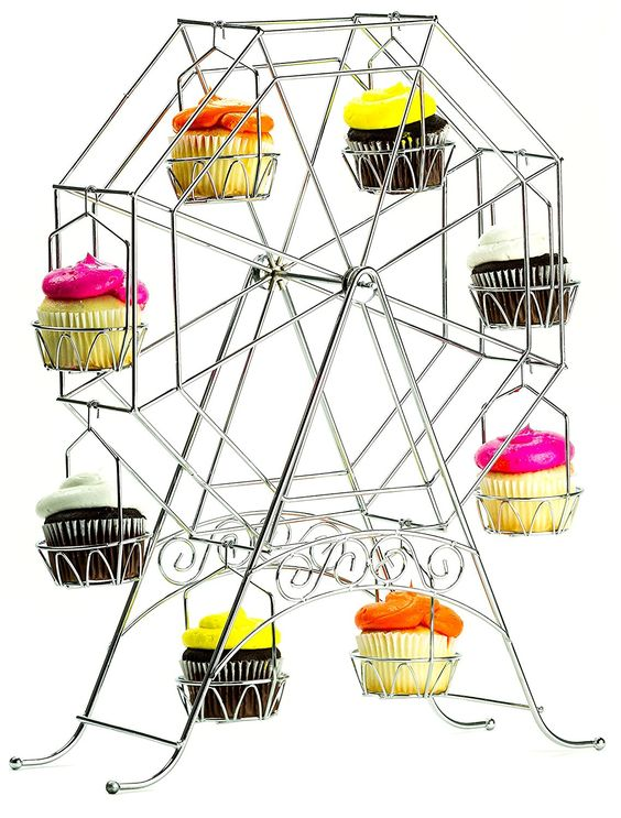 Ferris Wheel Cupcake Stand.