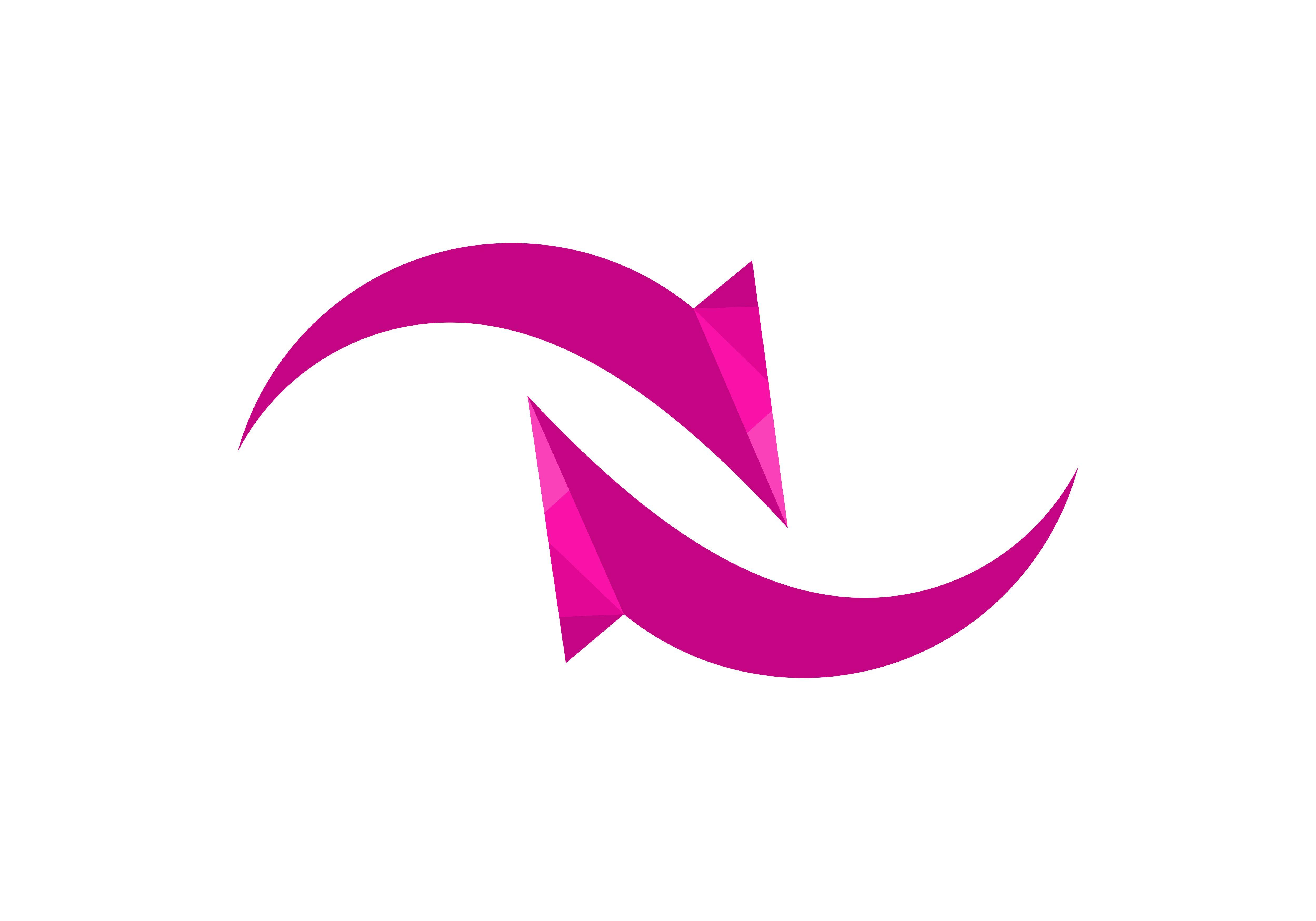 Arrow, Rotation Logo Vector.