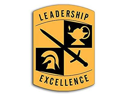 Amazon.com: American Vinyl ROTC Leadership Excellence Logo.