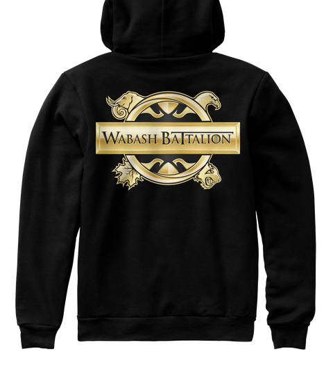 'Official' Wabash hoodie w/ ROTC logo.