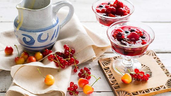 Red berry pudding (rote grütze) recipe : SBS FoodThis refreshing.