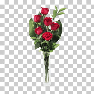 2 rote Rosen PNG cliparts for free download.