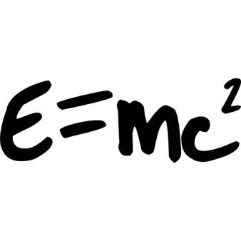 Einstein equation Icons.