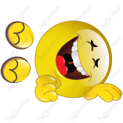 Rolling On The Floor Laughing Clipart.