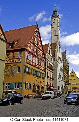 Picture of Rothenburg ob der Tauber.