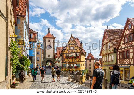 Rothenburg Stock Photos, Royalty.