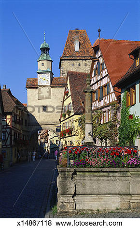 Pictures of Rothenburg ob der Tauber, Germany, Europe x14867118.