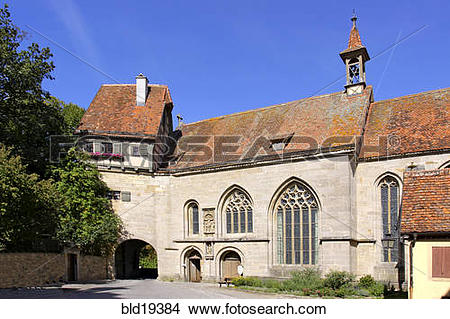 Stock Photo of Germany, Bavaria, Rothenburg ob der Tauber.
