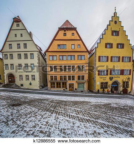 Stock Image of Rothenburg ob der Tauber, Germany k12886555.