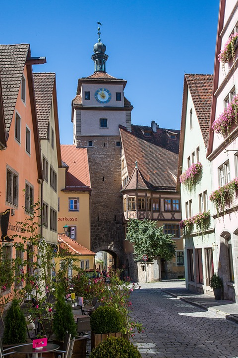 Free photo: Rothenburg Of The Deaf, Rothenburg.