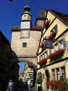 Rothenburg ob der tauber on Pinterest.