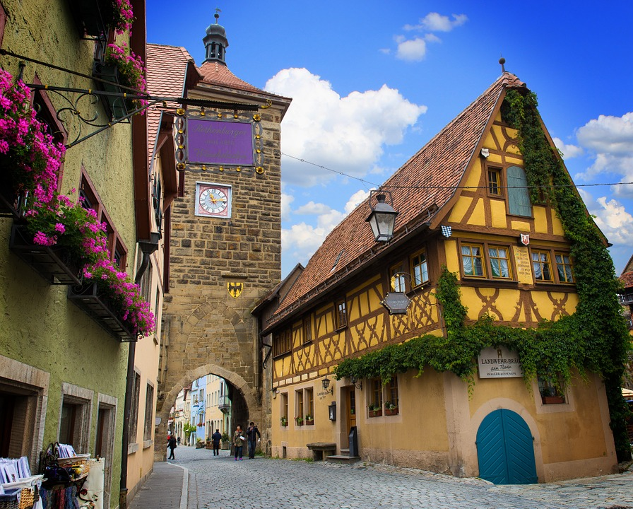 Free photo: Rothenburg Of The Deaf.