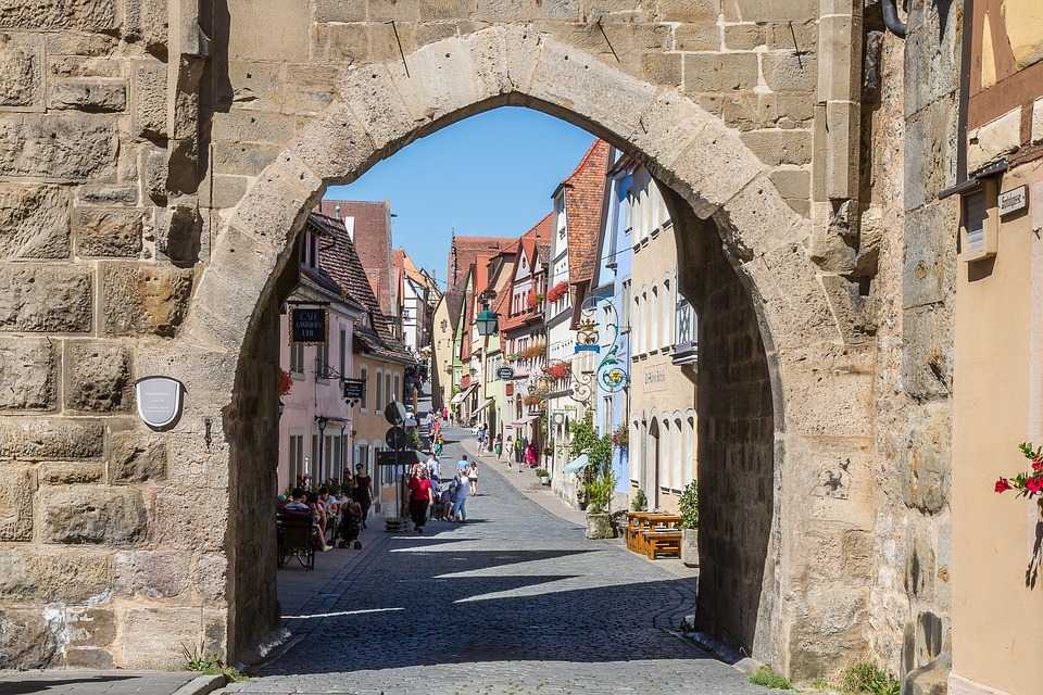Free photo: Rothenburg Of The Deaf, Sieberstor.